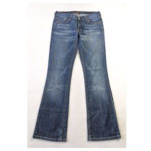 7 For All Mankind Stretch Flare Jeans Size 27